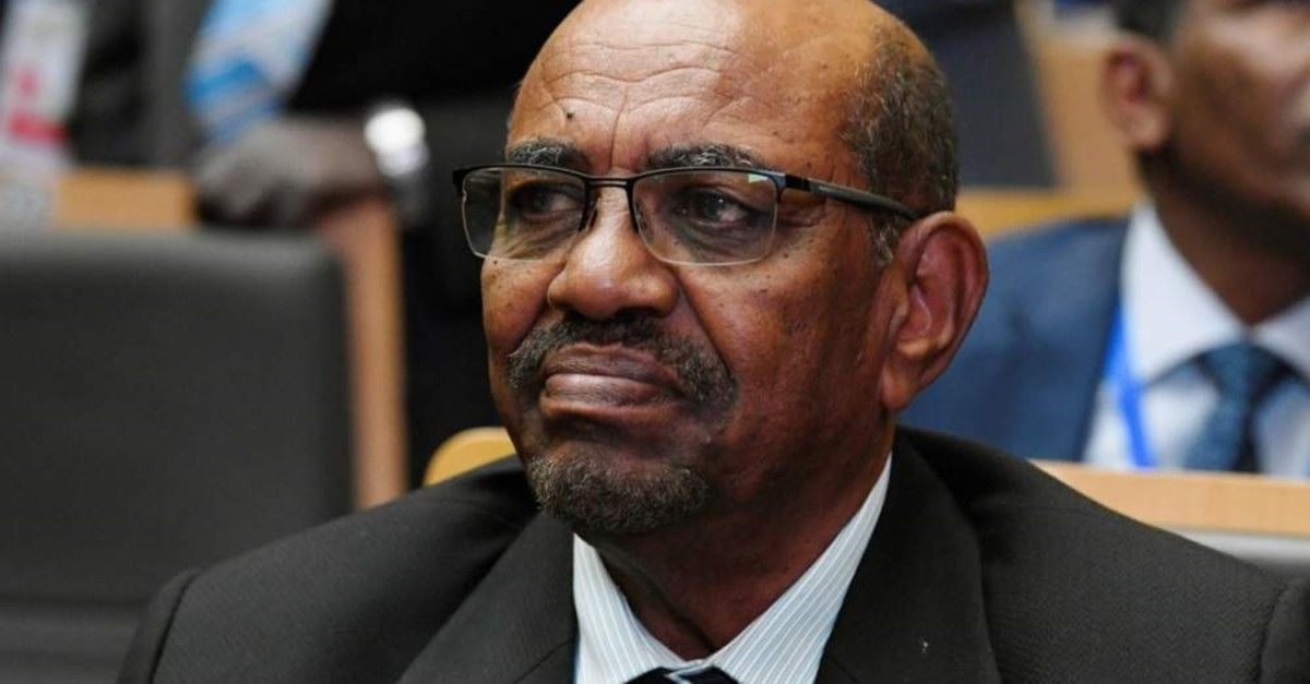 Former Sudanese President Omar al-Bashir attends the opening of the Ordinary Session of the Assembly of Heads of State and Government, Addis Ababa, Jan. 28, 2018. (AFP Photo)