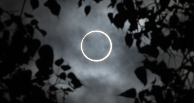 'Ring of fire': Rare solar eclipse wows across Asia