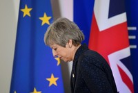 British PM Theresa May 'expected to quit Friday'