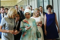 Emine Erdoğan explains Rohingya plight to NATO first spouses