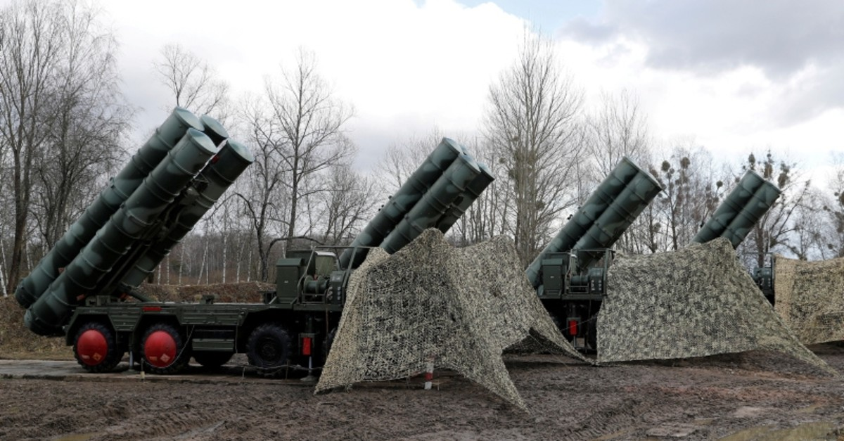 This file photo dated March 11, 2019 shows a new S-400 ,Triumph, surface-to-air missile system after its deployment at a military base outside the town of Gvardeysk near Kaliningrad, Russia. (Reuters File Photo)