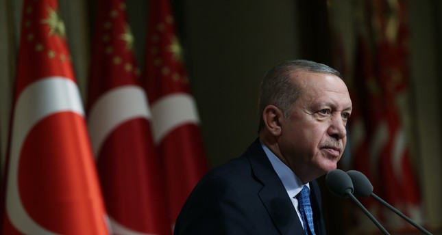 In his New Year's message, Erdoğan underscored that Turkey sides with stability, justice, tolerance and peace in its region and across the world.