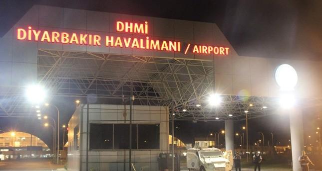 سقوط عدد من الصواريخ في محيط مطار ديار بكر جنوب شرق تركيا