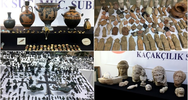 Istanbul police seize 14,000 stolen artifacts