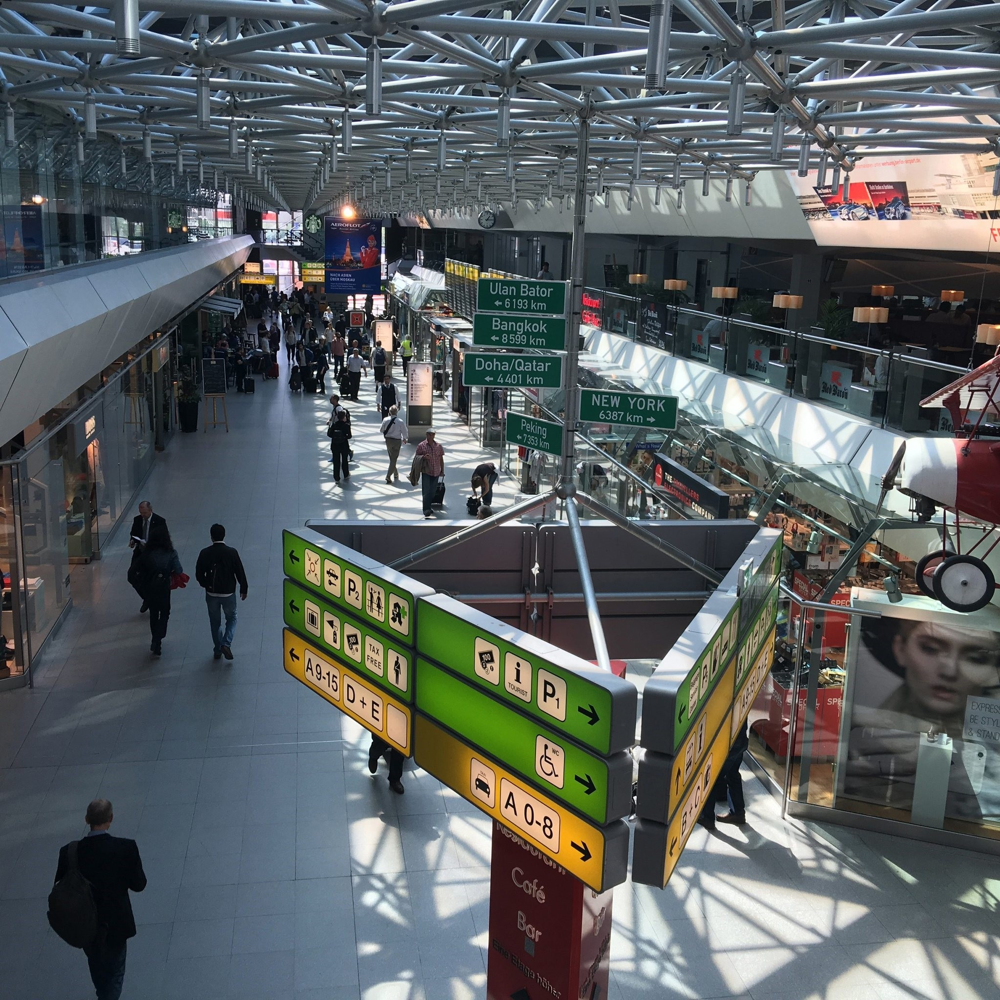 Berlin's International Tegel Airport (Sabah Photo)