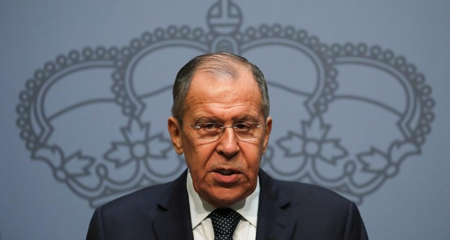 Russin Foreign Minister Sergei Lavrov. (Reuters Photo)
