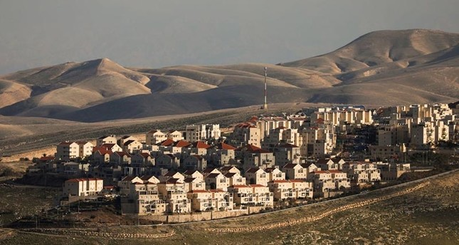 A general view picture shows houses in the Israeli settlement of Maale Adumim (Reuters File Photo)