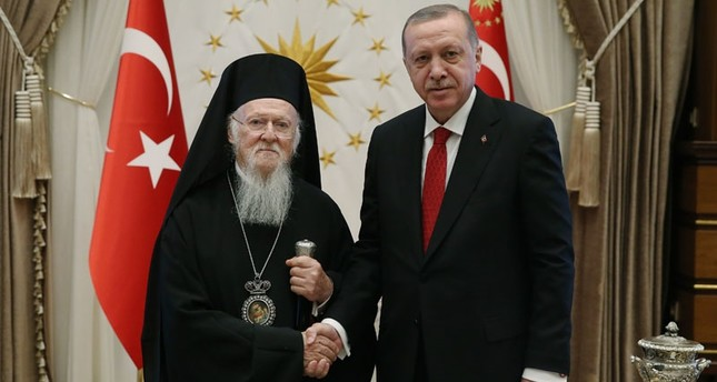 Patriarch talks with president, hopes to open seminary