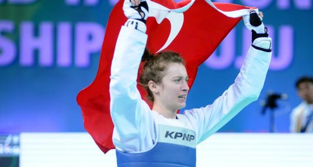 Zeliha Ağrıs defeated her Russian opponent Tatiana Kudashova in the women's 53 kg final in the city of Muju.