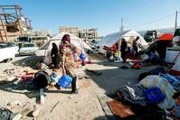 |Iraner verbrachten die Nacht in Kızılay-Zelten. (AFP)