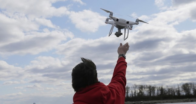Drones to fight air pollution in urban areas