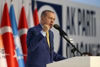 قال الرئيس التركي رجب طيب أردوغان في أول اجتماع له مع أعضاء حزب العدالة التنمية، بعد عودته إليه: