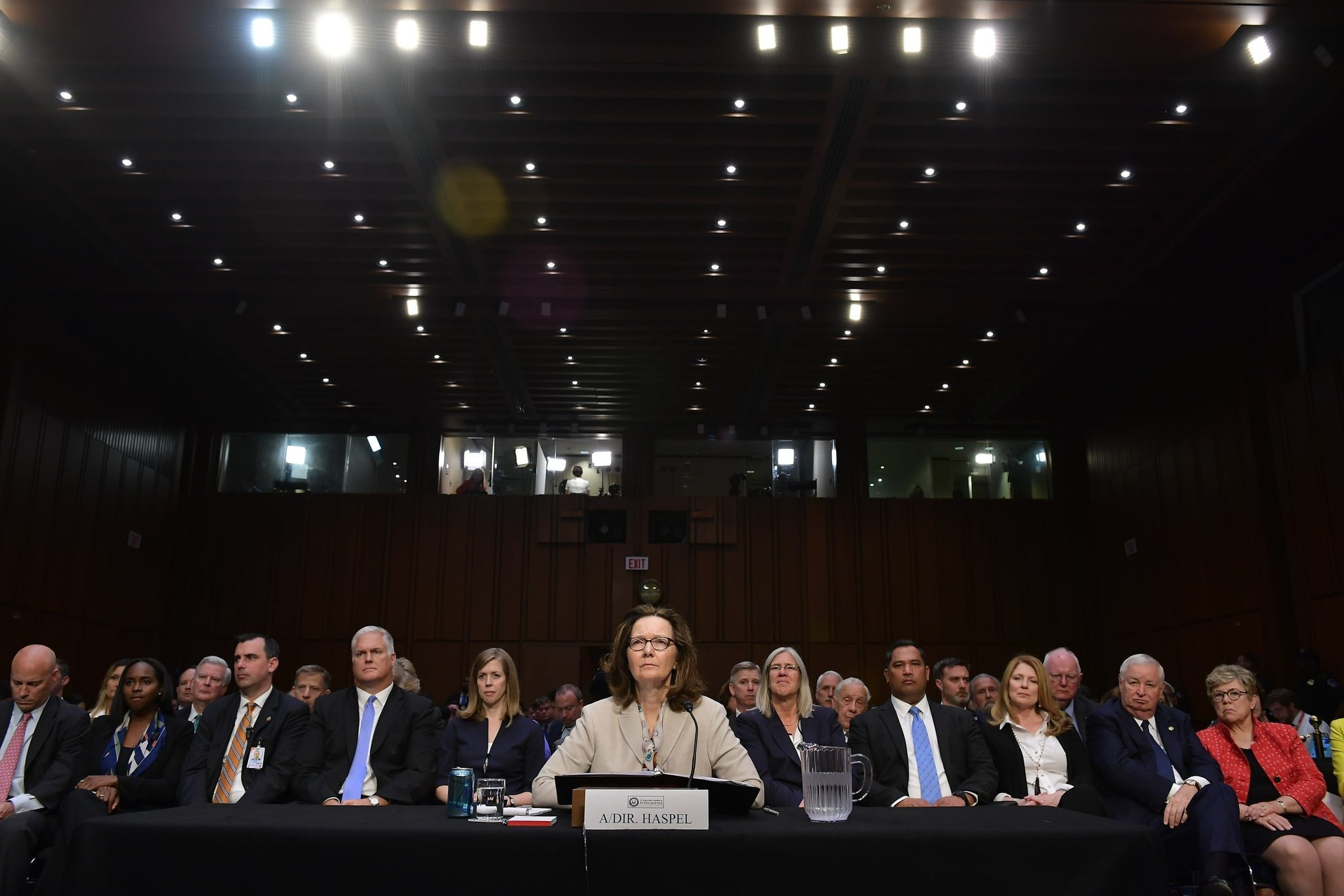 Gina Haspel testifies before the Senate Intelligence Committee on her nomination to be the next CIA director  (AFP Photo)