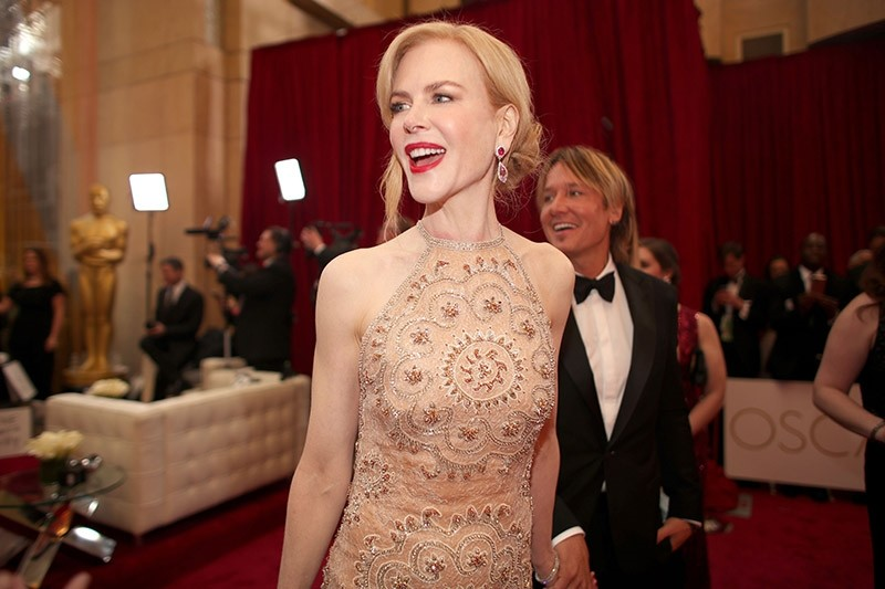 Nicole Kidman attends the 89th Annual Academy Awards at Hollywood & Highland Center on February 26, 2017 in Hollywood, California. (AFP Photo)