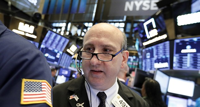 Trader Andrew Silverman works on the floor of the New York Stock Exchange, Wednesday, Nov. 7, 2018. (AP Photo)