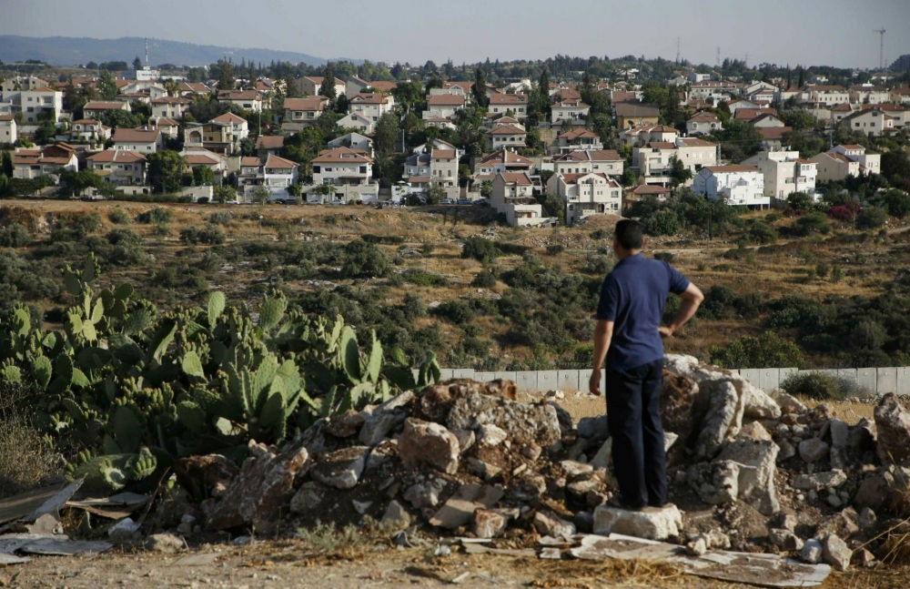The Israeli settlement of Hashmonaim, west of Ramallah, in the Israeli-occupied West Bank.