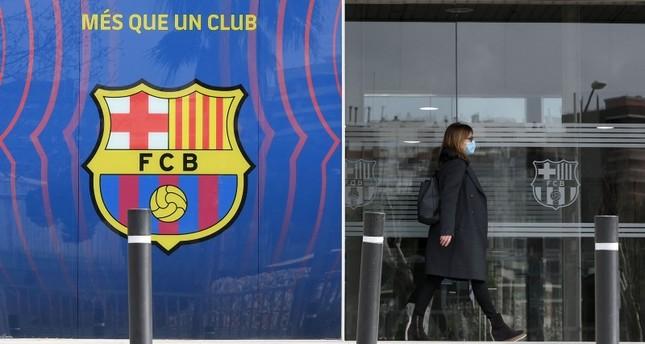 الشرطة الإسبانية تداهم نادي برشلونة وتعتقل مطلوبين