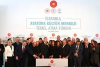 Erdoğan breaks ground for Atatürk Cultural Center