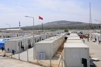 من المخيمات التي بنتها تركيا للاجئين السوريين الأناضول