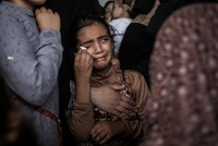 Thousands attend funerals of 3 Palestinians killed by Israeli fire