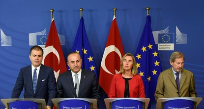 pEuropean Union Foreign Policy Chief Federica Mogherini said yesterday that the 28-nation bloc is looking to boost cooperation with Turkey on regional issues./p  pMogherini was speaking ahead of...