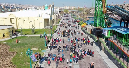 Ankara's new theme park sees nearly one million visitors in less than a week