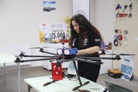 Bursa Technical University students designing 'Octocopter' to compete in US