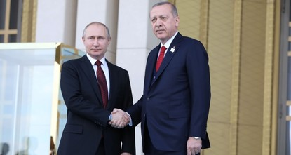 Эрдоган предложил Путину совместно производить С-500