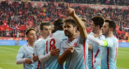 pTurkish young talents Emre Mor, Ahmet Çalık and Cengiz Ünder scored their first goals for their national team as Turkey defeated Moldova 3-1 in an international friendly late Monday./p  pPlaying...