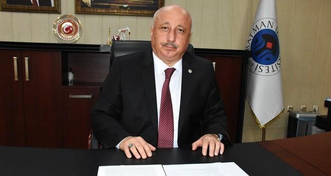 Batman University's Rector Prof. Aydın Durmuş ( AA Photo)