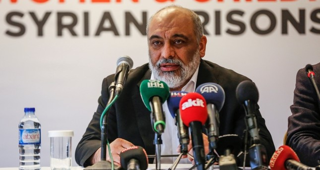 Humanitarian Relief Foundation (IHH) Chairman Bülent Yıldırım speaks at a news conference in Istanbul on Dec. 10, 2018. (AA Photo)