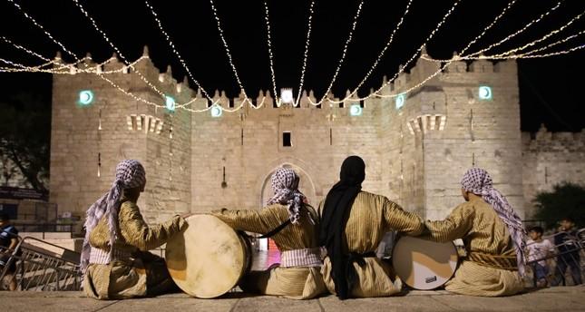 أمسية شعرية تركية في باحات المسجد الأقصى