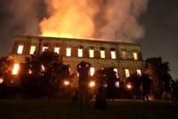 Massive fire engulfs 200-year-old museum in Brazil's Rio de Janeiro