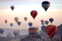 Colorful hot air balloons from 20 countries to fly in Cappadocia