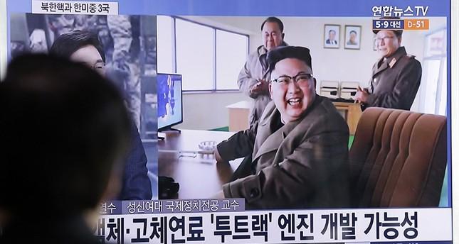 كوريا الشمالية تختبر محرك صاروخ مع زيارة وزير الخارجية الأمريكي للمنطقة