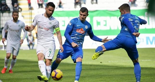 قونيا سبور يواصل نزيف النقاط في الدوري التركي