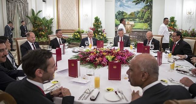 يلدريم: اتفاقية التجارة الحرة مع سنغافورة تدخل حيز التنفيذ أكتوبر المقبل
