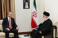 President Erdoğan meets with Iran's Khamenei after Tehran summit