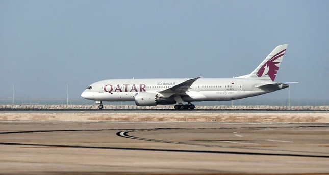 Bahrain, UAE partly open airspace for Qatar Airways
