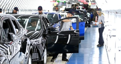pJapanese automaker Toyota Corp. said Friday it wants to double the production of automobiles in Turkey in 2017, aiming to increase production number to 280,000 vehicles./p