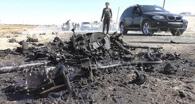 سوريا.. قتلى وجرحى بتفجير سيارة مفخخة في أعزاز قرب الحدود التركية