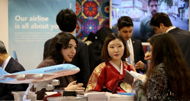 The East Mediterranean International Travel and Tourism Exhibition is one of the largest travel expos in the world. AA Photo