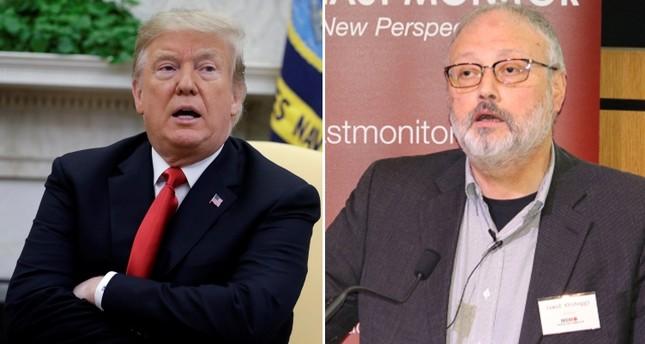 U.S. President Donald Trump (L) and Washington Post journalist Jamal Khashoggi (R). (AP & Reuters Photos)