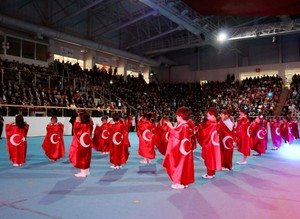 Turkish children celebrate Children's Day