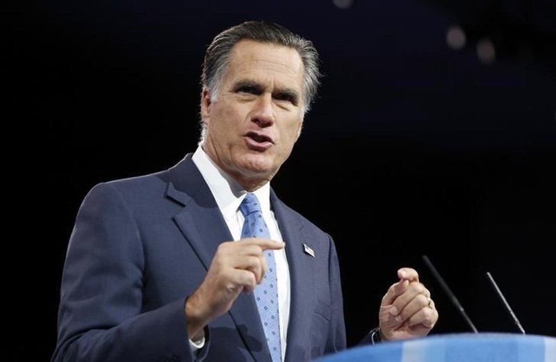 Former U.S. presidential candidate Mitt Romney speaks to the Conservative Political Action Conference (CPAC) in National Harbor, Maryland, March 15, 2013. (Reuters Photo)