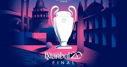 УЕФА представил логотип финала Лиги чемпионов-2020 в Стамбуле