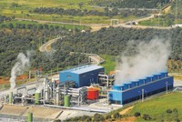 Turkey ranks fourth in global geothermal power