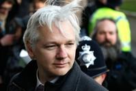 مؤسس موقع ويكيليكس جوليان أسانج سنة 2012.