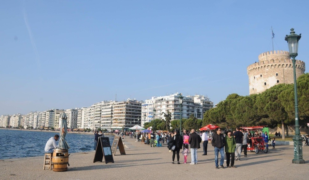 A view of Thessaloniki. Greece's second-largest city has been popular among FETu00d6 members in the past two years.