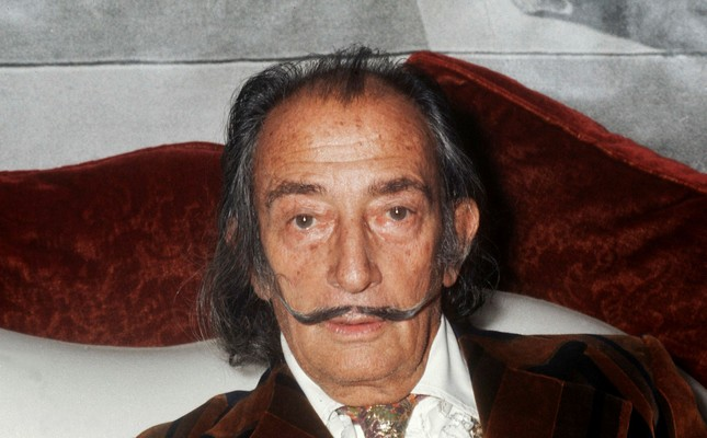 This file photo taken on December 13, 1972 shows Spanish artist Salvador Dali in Paris. (AFP Photo)